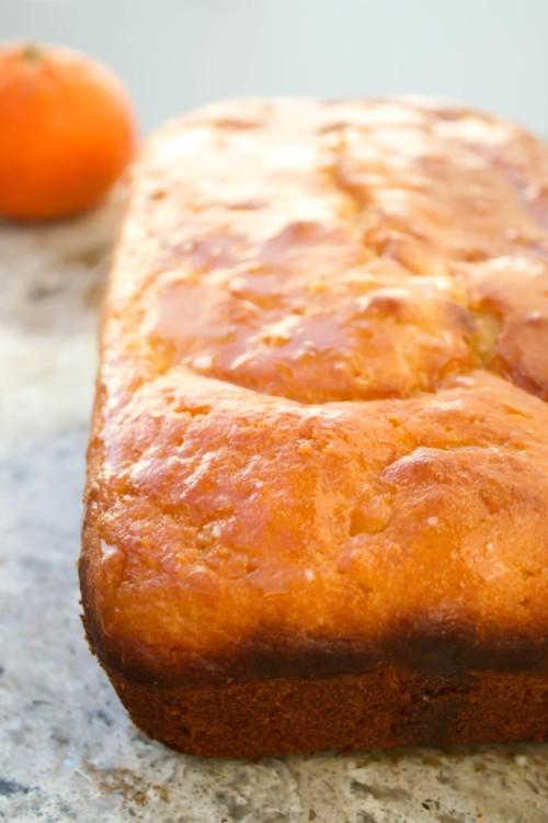 طريقة عمل كيكة البرتقال والزبادي