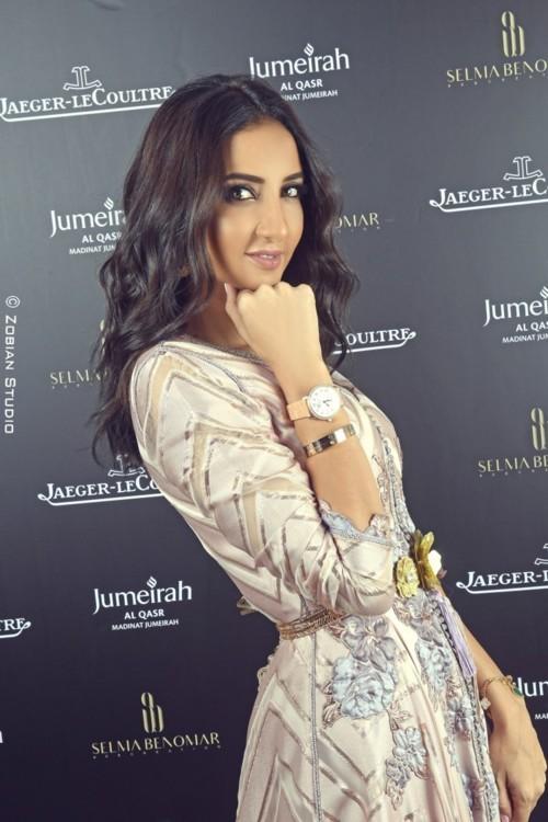 تعاون جيجر- لوكولتر ومصممة الأزياء الشهيرة سلمى بن عمر!