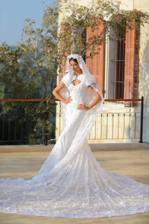 ريم السعيدي أميرة أندلسية في حفل زفافها من وسام بريدي!