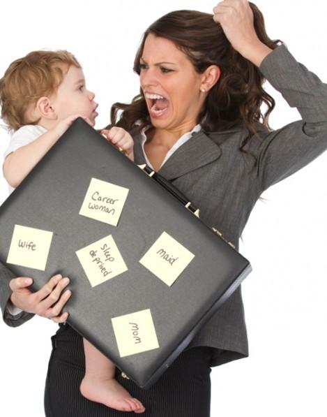 هموم الأمهات العاملات