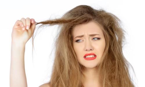 عالجي الشعر الجاف