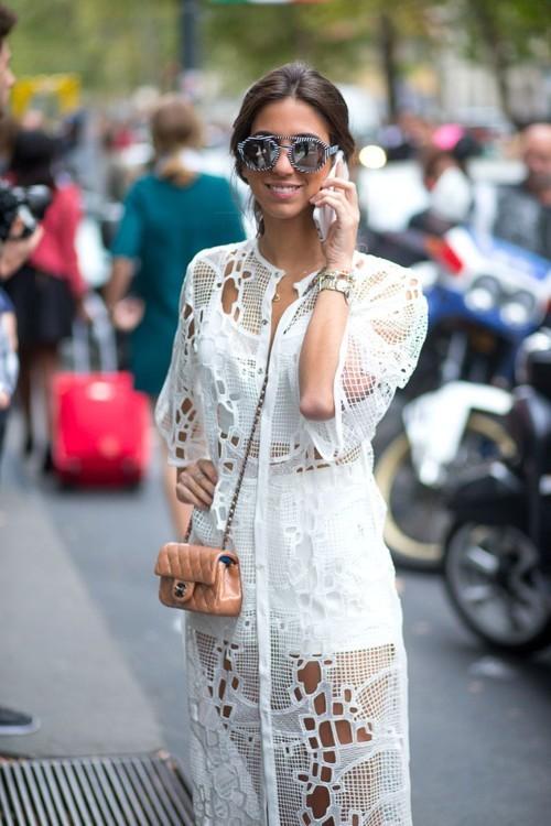 طرق جديدة لارتداء الأبيض هذا الصيف