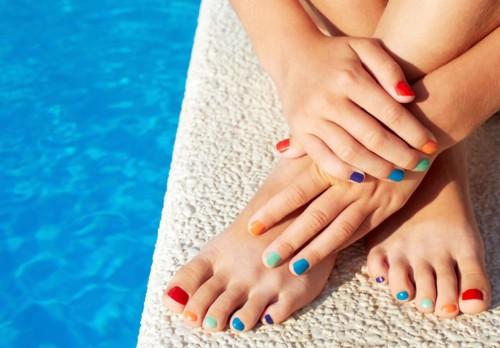 روتين الجمال لتكون أقدامك جميلة