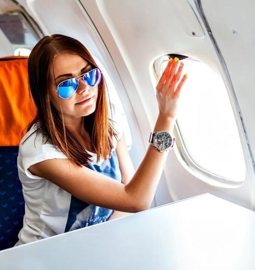 6 نصائح للعناية بالبشرة على متن الرحلات الجوية