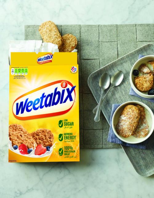 Weetabix..الفطور الصباحي للمرأة الخارقة!