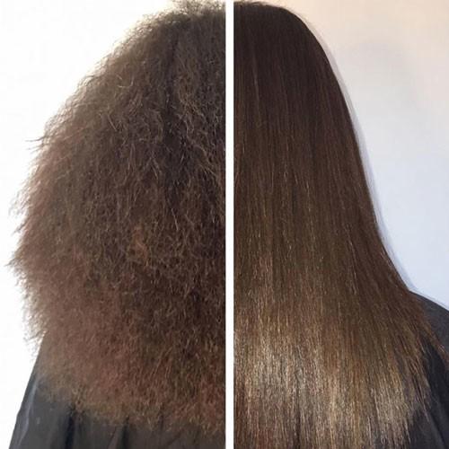 الكيراتين لعلاج الشعر التالف