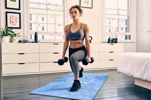 5 طرق سهلة لممارسة الرياضة في المنزل