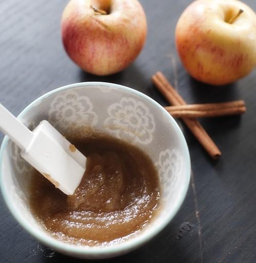 سكراب التفاح والقرفة لتقشير الجسم