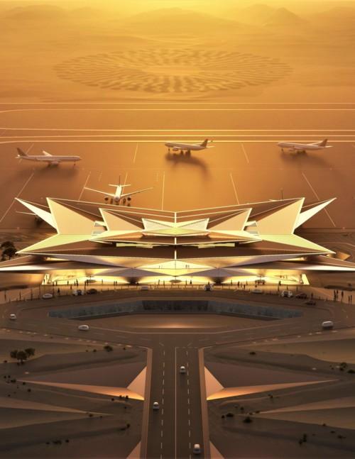 """مطار أمالا السعودي.. """"ريفيرا البحر الأحمر"""""""