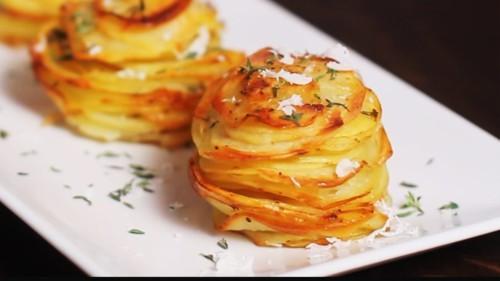 طريقة تحضير البطاطا بالبارميزان