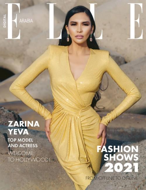 زارينا ييفا: جميلة كازاخستان نجمة تتألّق في هوليوود