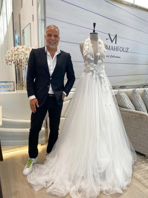 عبد محفوظ يُطلق أحدث مجموعة لفساتين الزفاف في دبي