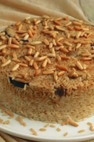 طريقة تحضير مقلوبة الرز بالباذنجان