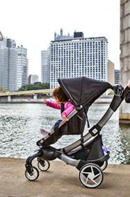أوريغامي، عربة الأطفال الذكية