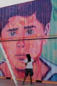 فنون الشارع يعيد رسم ملامح أبوظبي