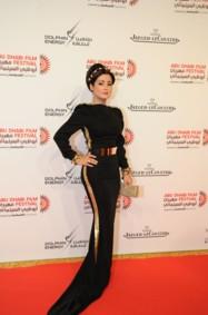 مروة محمد تتألق في حفل افتتاح مهرجان أبوظبي السينمائي