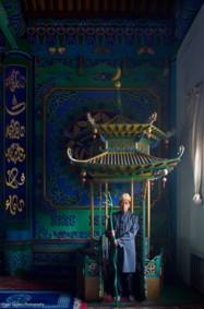لحظات من حياة المسلمين في الصين بعدسة بيتر ساندرز