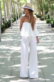 اللون الأبيض: طرق جديدة لارتدائه!