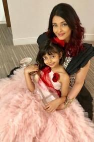في عيد الأم: أناقة أيشواريا راي وابنتها!