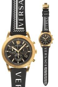 ساعة مستوحاة من ملابس Versace الرياضية