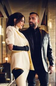 مقابلة مع ثنائي العام النجمة درة وهاني سعد