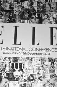 انطلاق المؤتمر العالمي لمجلة ELLE 2013