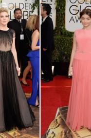 أجمل فستانين للمصمّم جورج حبيقة في Golden Globes 2014
