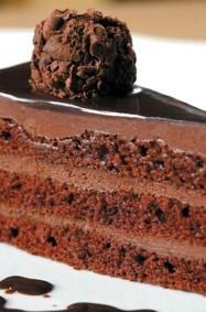 طريقة تحضير كيك موس الشوكولا