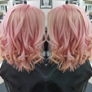 الشّعر الذّهبي الوردي موضة هذا الموسم!