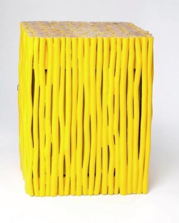 موضة الأصفر المشرق لقطع الديكور!