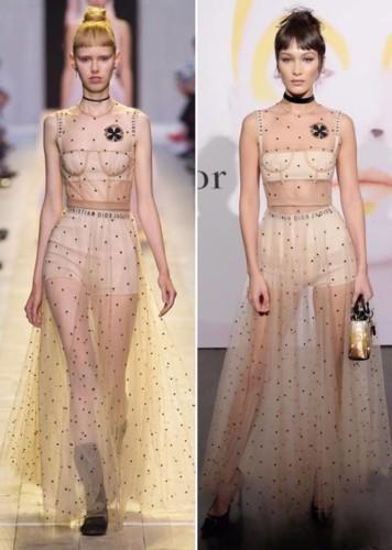 نجمات يسرقن الأضواء بـ 17 فستان من ديور لربيع 2017