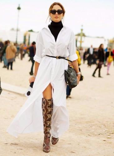 القميص الأبيض غير التقليدي: 6 طرق لارتدائه!