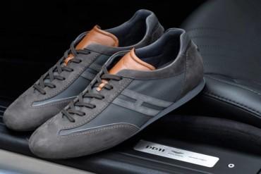 أستون مارتن و هوجان تبدعان أروع حذاء رياضي فاخر