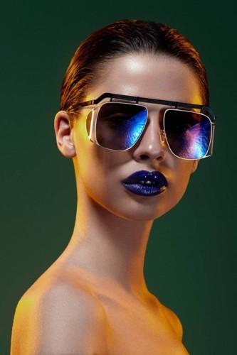 لوك عصري ومبتكر مع نظارات Delalle الشمسية!
