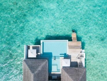 فقّاعة فخمة في جزر المالديف