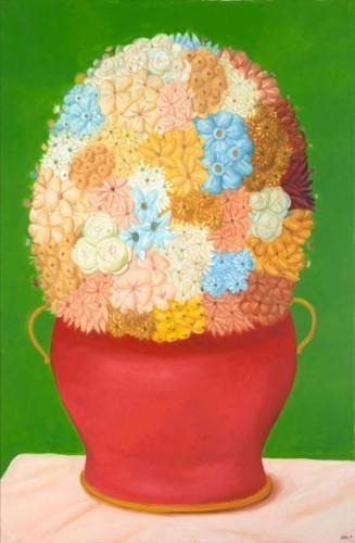 لوحات فرناندو بوتيرو الرائعة في كاستوت غاليري دبي