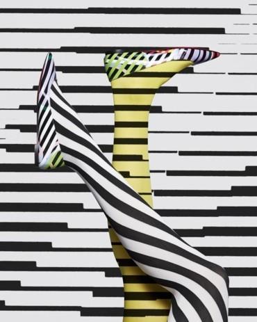 الفن الحركي يلهم Christian Louboutin