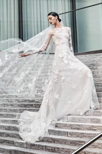 فساتين زفاف 2019 للعروس الإماراتية
