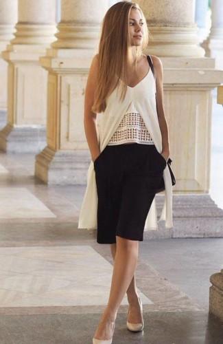 طرق عصرية لارتداء شورت البرمودا، إكتشفيها