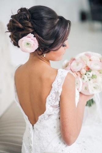 صيحات أكسسوارات الشعر لعروس 2019