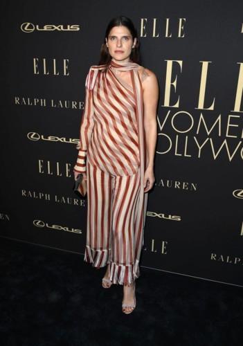 الأسود يجتاح حفل جوائز ELLE للمرأة في هوليوود