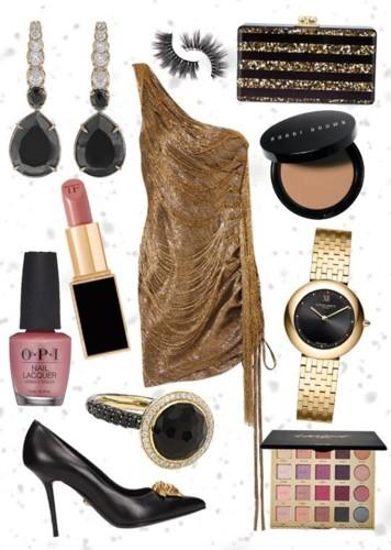 أي فستان ذهبي ستتألقين به في أمسيتك؟