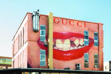 جدران فنية جديدة تحتفي بحملة غوتشي