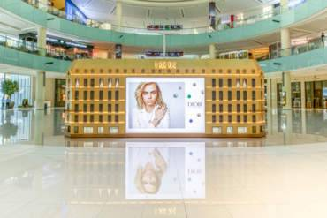 إفتتاح متجر Dior المؤقت في دبي مول