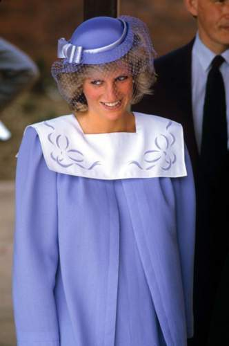 الأميرة ديانا من عاشقات اللون البنفسجي، إستوحي من إطلالاتها