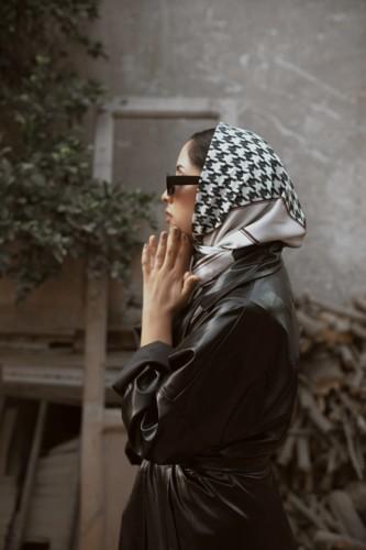 ريهام والحجاب معاً يداً بيد على الخريطة!