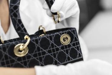 حقيبة Lady D-Lite من المخمل