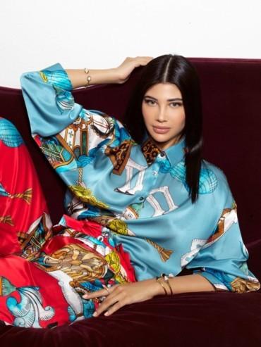 عبلة صوفي، عارضة الأزياء المغربية المتعدّدة المواهب