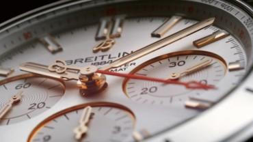 ساعة كرونومات النسائية والرجالية من بريتلينغ