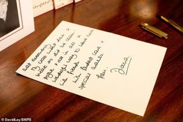 مزاد علني لرسائل بخط يد الأميرة ديانا